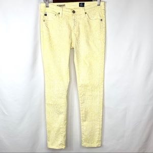AG Adriano Goldschmied Super Skinny Ankle Jeans 27